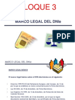 DNIe BLOQUE 3 Marco Legal