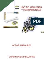 Uso Seguro de Maquinas y Herramientas - Conssyso