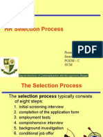 Selection Process
