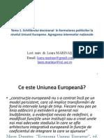 Tema 1_1 Institutii Si Decizii in UE