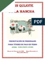 Libro Completo de Las Presentaciones de Títeres de Don Quijote