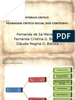 Tendência Histórico-critica - didática