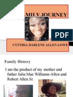 my family journey