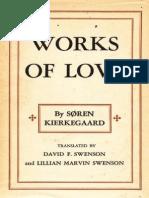 Kierkegaard, S - Works of Love (Princeton, 1949)
