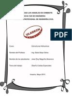 Diseño Caidas Especiales Hidraulicas Jose Maguiña