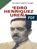 Manuel de Jesús Goico Castro - Pedro Henríquez Ureña