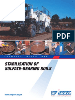 Stabilisation of Sulfate Bearing Soil
