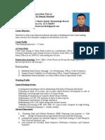 CV of Benazir(1)