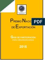 Guia Participacion Organizaciones 2015.Pne