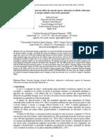 Estudo preliminar do impacto do cultivo da cana-de-açúcar