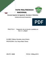 Practica 1 Calculo Vectorial