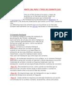 Fabricas de Cemento Del Perú y Tipos de Cemento Que Prodcucen