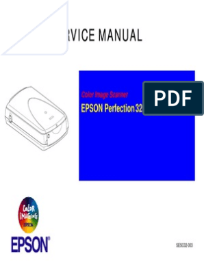 Epson Perfection 3200 Photo Service Manual | Image Scanner | Usb