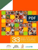 33 Meses en Los Que Se Define El Partido 33 Ideas Para Jugarlo