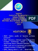 Eritema Poliformo-eritema Nodoso Prefinal..