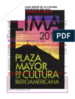 Agenda de Febrero - Lima Cultura Peru