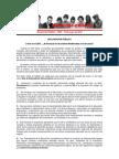 Declaración Pública – RED – 10 de Mayo de 2015