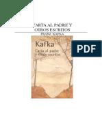 Carta Al Padre, De Franz Kafka -1