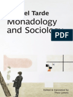 Tarde_ Monadology and Sociology