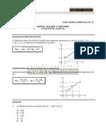 MA27 Ecuación de La Recta