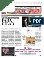 Playlab en el diario Publico