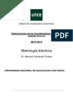 METROLOGIA ELECTRICA para electromecanica