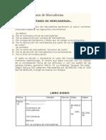 Cuenta Inventario de Mercaderias