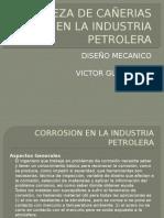 Limpieza de Cañerias en La Industria Petrolera