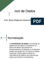 Banco de Dados Normalizac3a7c3a3o