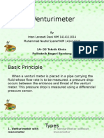 presentasi venturimeter