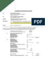 Modelo Informe Mensual