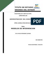 Eva Viviana Fernandez Osorno Tarea Modelo de Intervencion