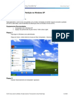 5.2.4.5 Lab - Create a Partition in Windows XP