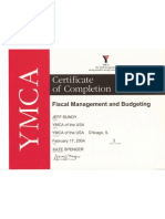 Fiscal Management & Budgeting