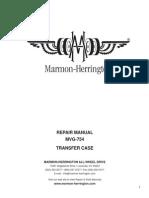 Transmision MVG-754 Service