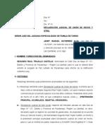 Declaracion Judicial de Union de Hecho