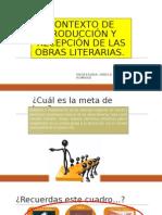 Contexto de Producción y Recepción de Las Obras 2015