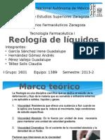 Liquidos reologia