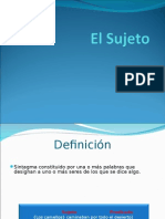 EL SUJETO.ppt