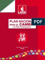 61071206 Plan Nacional Para El Cambio