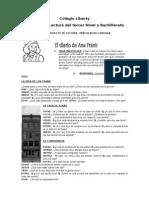Guia de Lectura Diario de Ana Frank Colegio Liberty