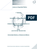 Unidad 2. Aplicacion Del Marco Normativo en Seguridad Publica