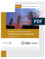 Derecho de La Energia