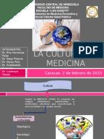 La Cultura y La Medicina