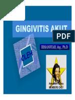 Pe 142 Slide Gingivitis Akut