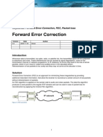 Forward Error Correction (FEC)