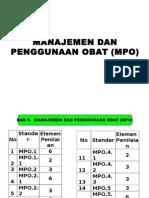 Manajemen Dan Penggunaan Obat (Mpo)