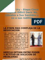 Modelo Ury – Etapa Cinco