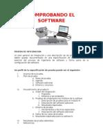 Comprobando El Software
