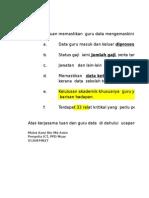 Ralat Kritikal Data 13 April 2013